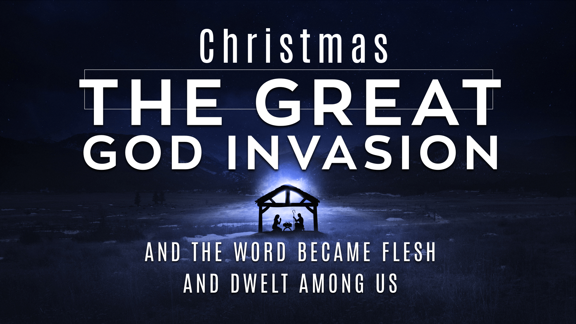 Christmas - The Great God Invasion