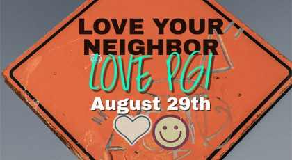 Love Your Neighbour – Love PG