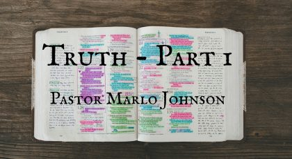 Truth – Part 1